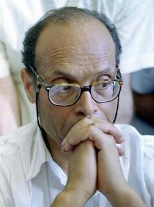Soutien à Moncef Marzouki