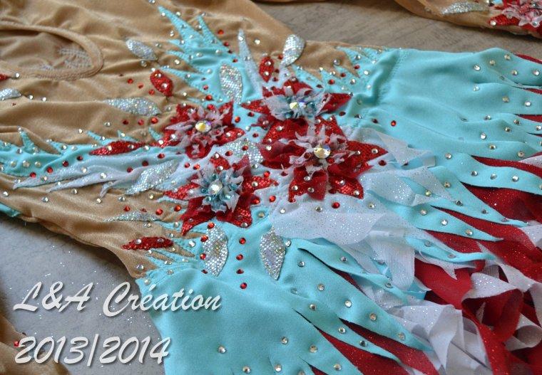Justaucorps Chloé ruban 2014