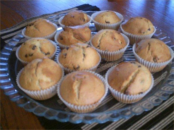 Muffins aux raisins secs