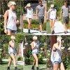 02.08.12 Miley est Liam se rendant chez un ami pour lui rendre visite à Pasadena
