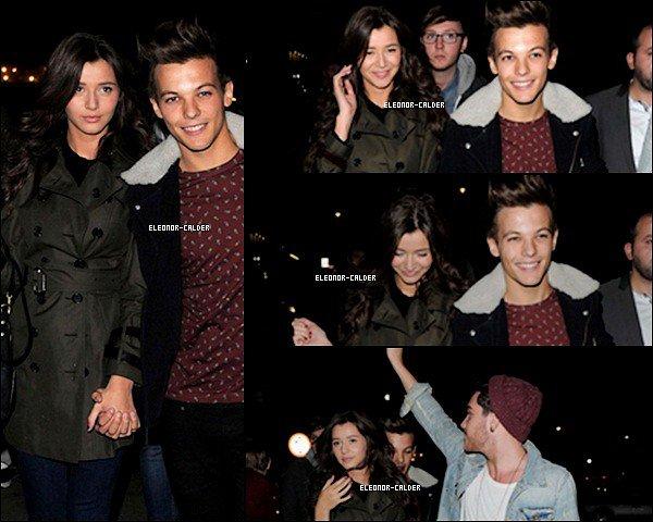 3/10/12: Eleanor et son Boyfriend Louis ont étaient photographié quittant Le Gig D'Adam Burridge a SHOREDITCH pour moi c'est un Bof et pour vous Top/Flop ?