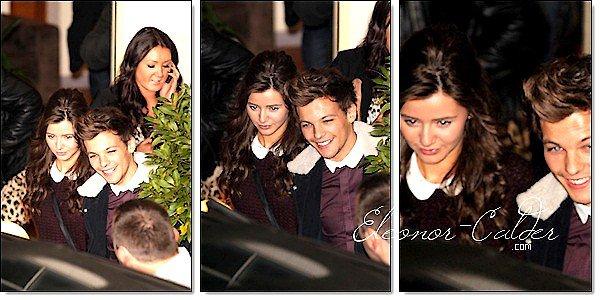 7/10/12: La belle Eleanor a était prise en photo toujours avec son beau Louis Tomlinson quittant 'FOUNTAIN STUDIOS' Aprés un show live a X FACTOR Vos avis ?