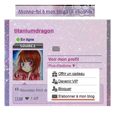 ♥Bienvenue sur le blog de titaniumdragon!♥
