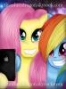 ♡ Fluttershy & Rainbow Dash Selfie ♡