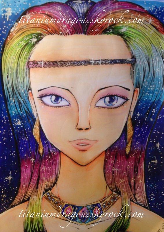 ☀ Rainbow galaxy queen ☀