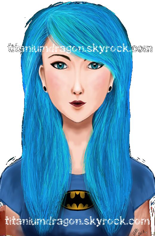 ✧❖ Blue hair ❖✧