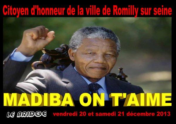 Hommage à NELSON MANDELA au BRIDGE Café-Concert / LE PROGRAMME