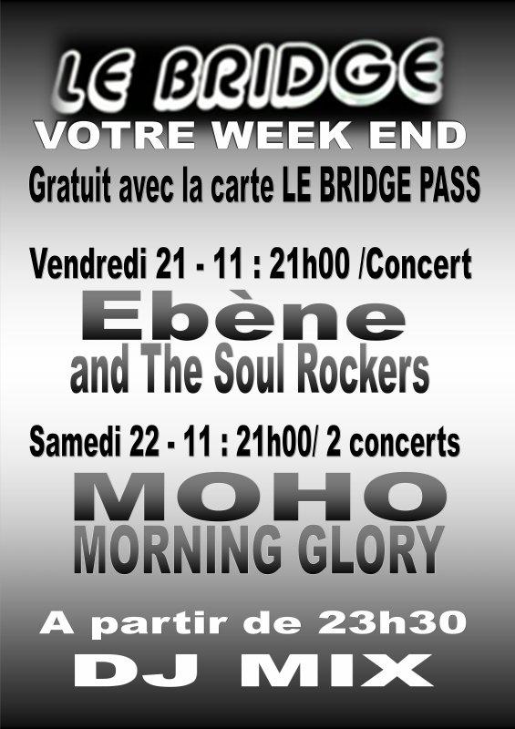 Votre weekend au Bridge Café-Concert