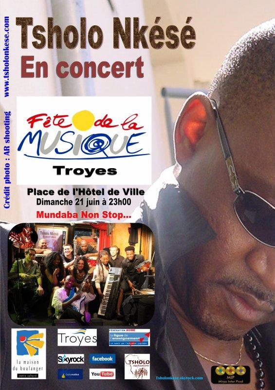 De la Bidound Dound à Troyes pour la 34ème édition de la fête de la musique