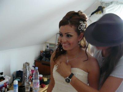 Blog de princesse dorient maquillage libanais et - Coiffure mariage detache ...