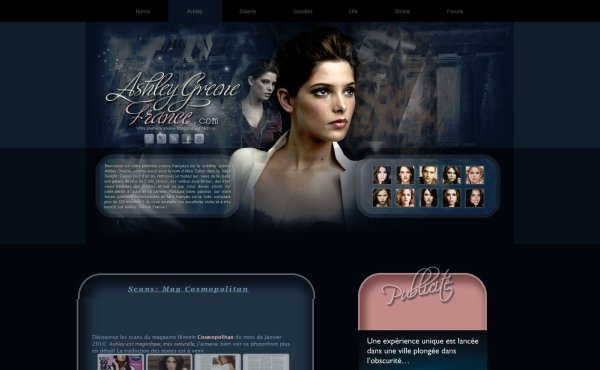 Le Site Web Ashley Greene France
