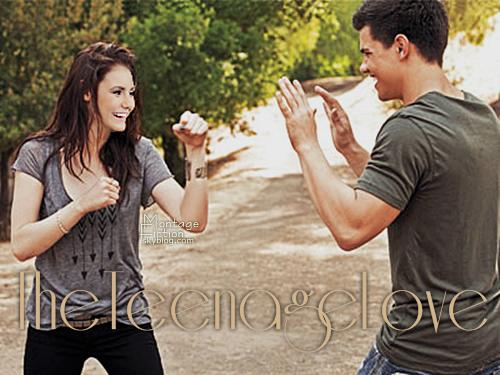 Nina Dobrev & Taylor Lautner