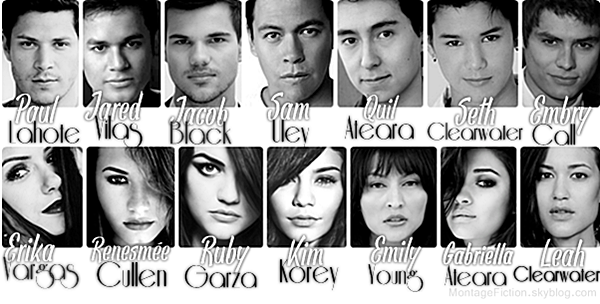 Personnages de la fiction TheTeenageLove