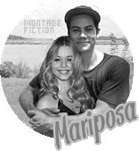 badge Sasha Pieterse & Dylan O'Brien