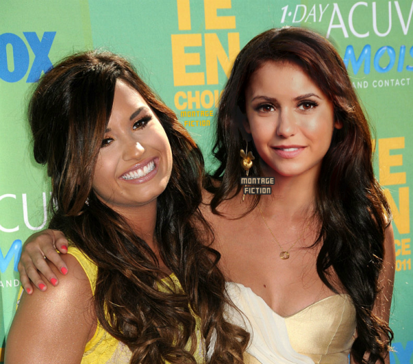 Demi Lovato & Nina Dobrev