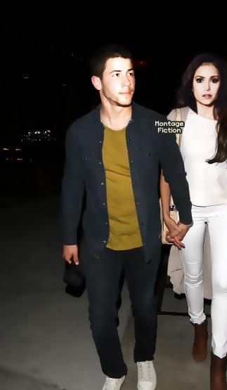 Nick Jonas & Nina Dobrev
