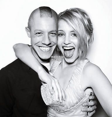 Theo Rossi & Dianna Agron
