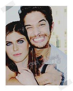 Tyler Posey & Alexandra Daddario