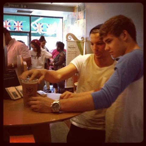 Louis et Liam