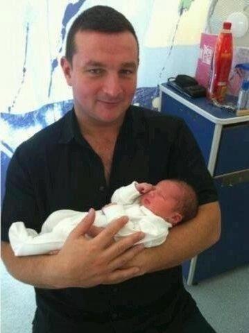 Paul et son bébé