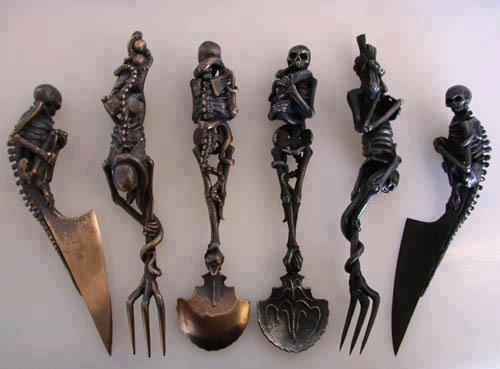 Accessoires & objets gothiques!