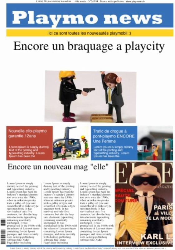 Le playmo news