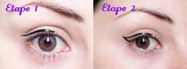 Comment bien mettre son eye liner blog de miss swagg 95 - Comment mettre eye liner ...