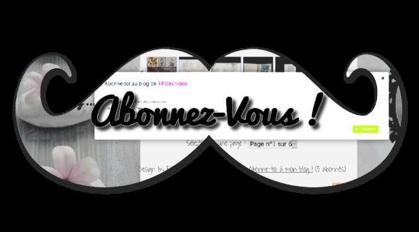 #AbonnezVous!♥