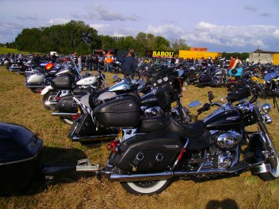 harley tours 2008