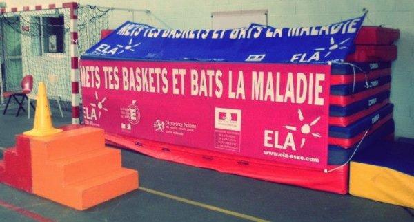 ELA, METS TES BASKETS ET BATS LA MALADIE !
