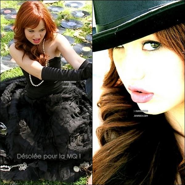 . Découvrez deux photos provenant du twitter de Debby R. du shoot réalisé par Claire Oring début 2011.  Note : J'ai posté les deux nouvelles photos juste dessous & les anciennes après les nouvelles. Tu aimes ? .