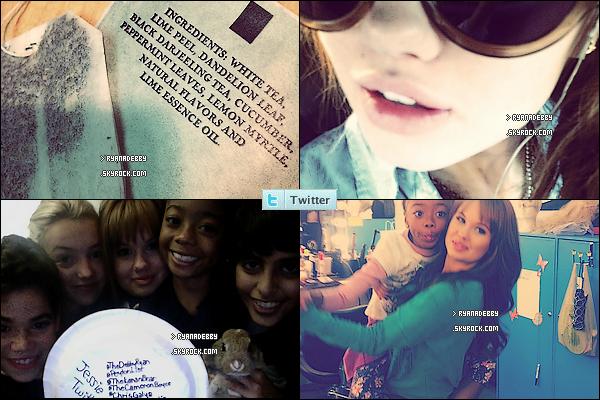 . Découvrez toutes les nouvelles photos que Debby Ryan à posté sur twitter. .