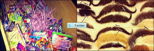 . Découvrez quelques photos provenant du twitter de notre superbe & talentueuse Debby R. .