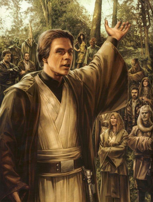 Je ne viendrai jamais du côté obscur. Je suis un Jedi, comme mon père l'avait été avant moi.