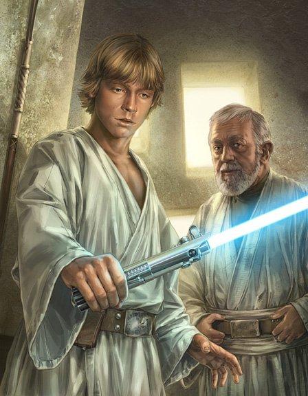 Que la Force soit avec toi, à jamais..