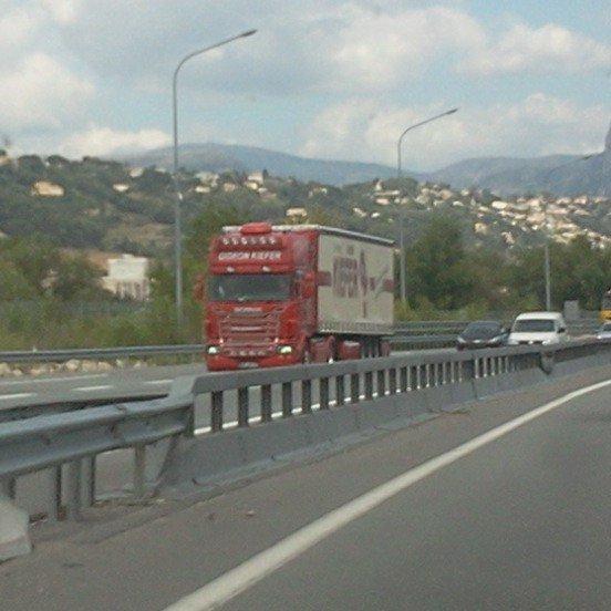 Scania (photo prise par moi)
