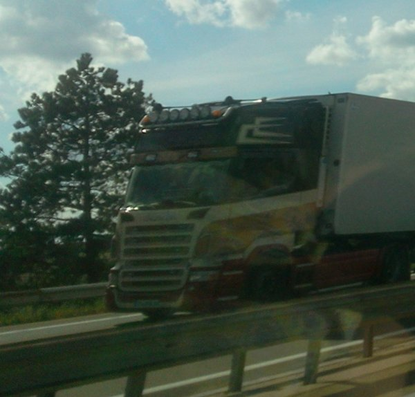 Scania (photo prise par moi)