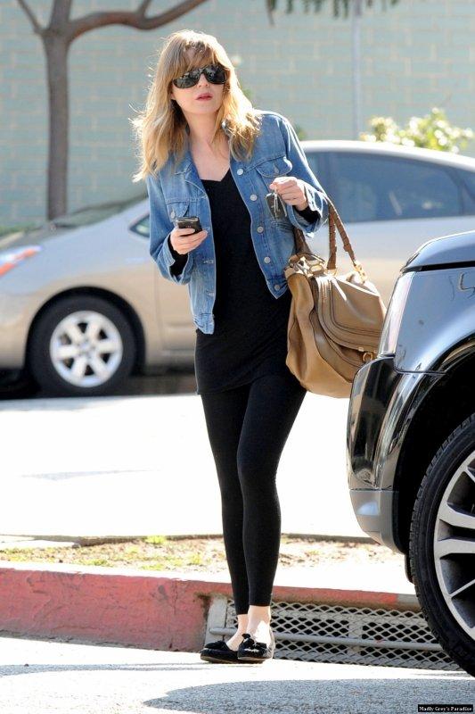Ellen Pompeo à West Hollywood le 3 mars