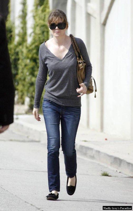 Ellen à Hollywood Hills le 7 mars