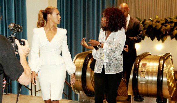 Beyonce très stylée à l'ONU