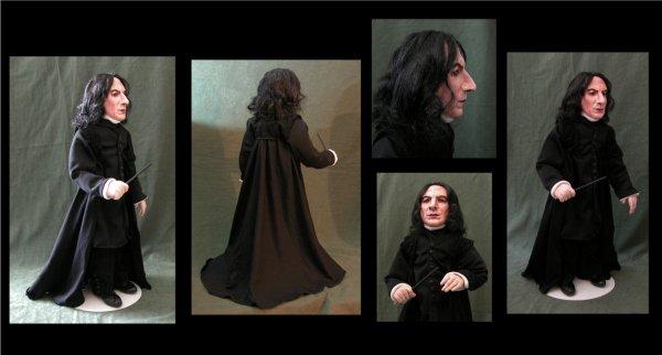 Poupée Professeur Severus Rogue