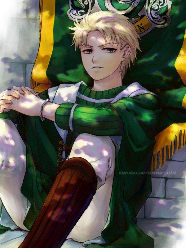 Draco Malfoy by Hakumo
