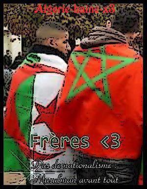 Historique rencontre maroc algerie