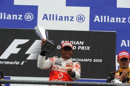 13è épreuve: Grand Prix de Belgique: Hamilton gagne en contenant Webber