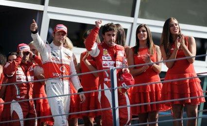 14è épreuve: Grand Prix d'Italie: Fernando Alonso gagne et se replace dans la course au titre