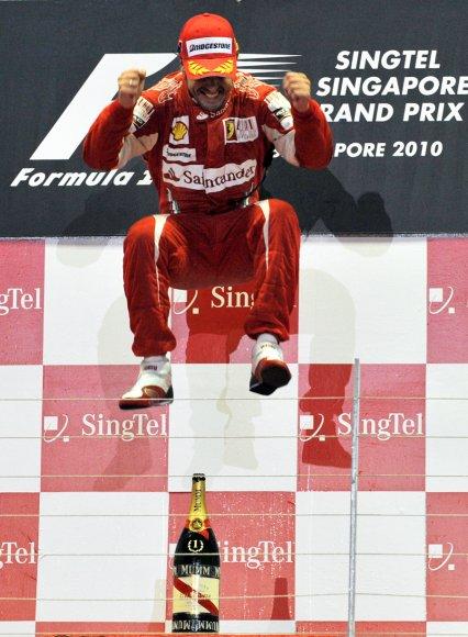 15è épreuve: Grand Prix de Singapour: Victoire de Fernando Alonso