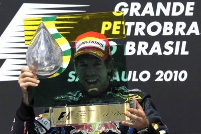 18è épreuve: Grand Prix du Brésil: Vettel victorieux, Red-Bull championne du monde des constructeurs