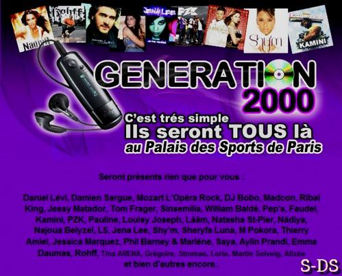 """HH >> """"Génération 2000"""" ~ Le duo Damien Sargue / Cécilia Cara de retour le temps d'une émission !  HH"""