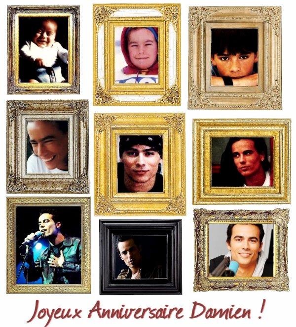 HH >> Joyeux Anniversaire Damien !♥ ~ 30 ans aujourd'hui !  HH
