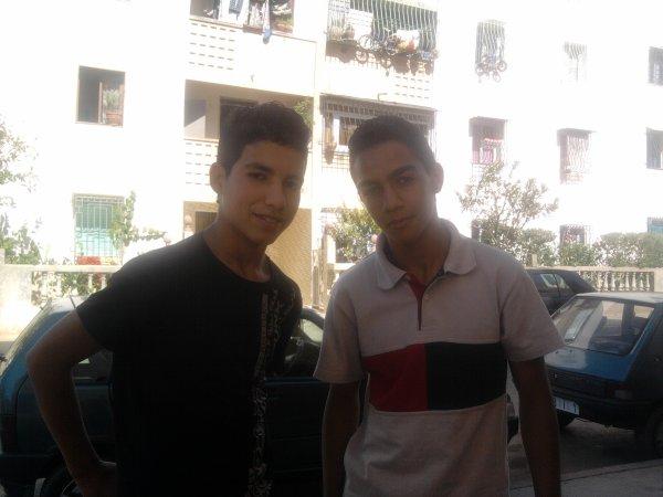 avec mon ami anass